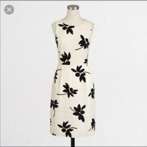 J. Crew Sleeveless Printed Sheath Dress 2